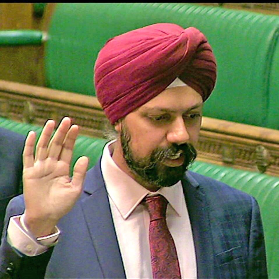 Tanmanjeet Singh Dhesi MP