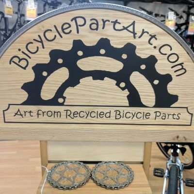 Bicycle Part Art On Twitter Drink Coaster Handmade From Recycled