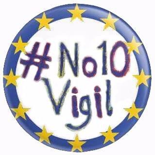 #No10Vigil