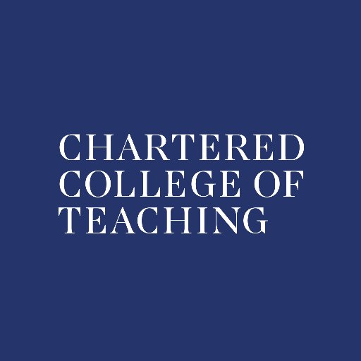 Chartered College of Teaching (@CharteredColl )
