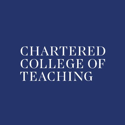 Chartered College of Teaching (@CharteredColl) Twitter profile photo