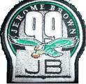 Jerome brown patch for sale