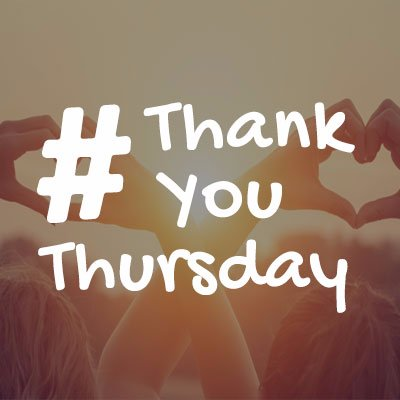 ThankYouThursday On The Hashtag Directory