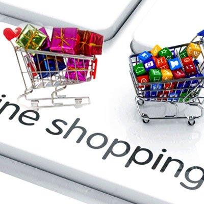 #shopping online