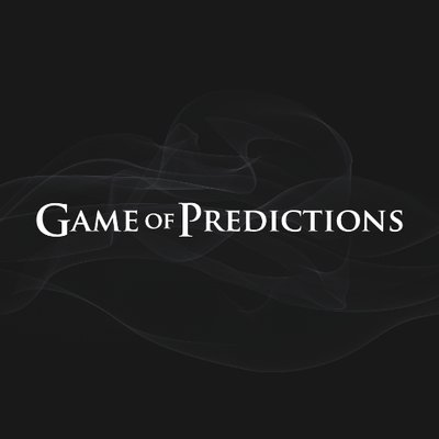 Game of Predictions (@got_predictions) | Twitter