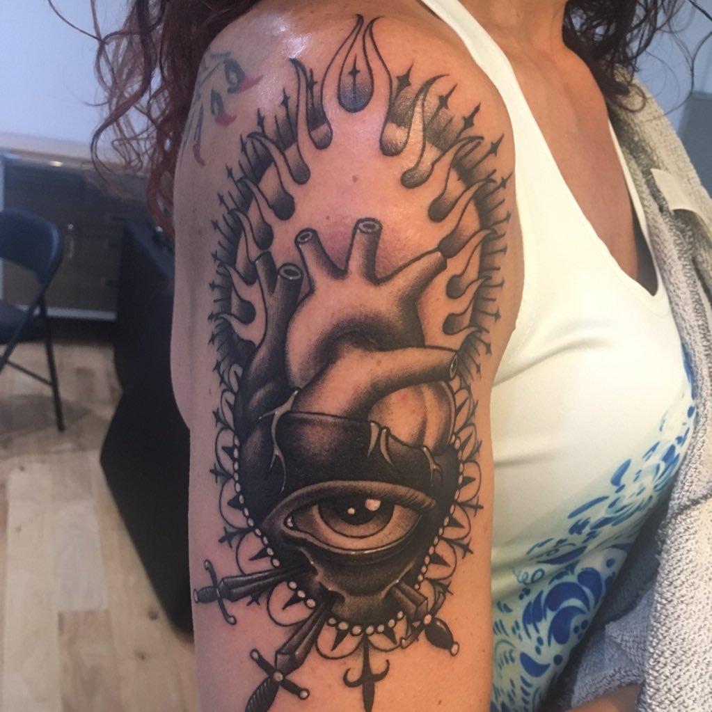 David Gray On Twitter Black Gray My Favorite Style Of Tattoo
