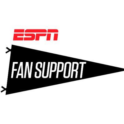 ESPN FAN SUPPORT (@ESPNFANSUPPORT) | Twitter