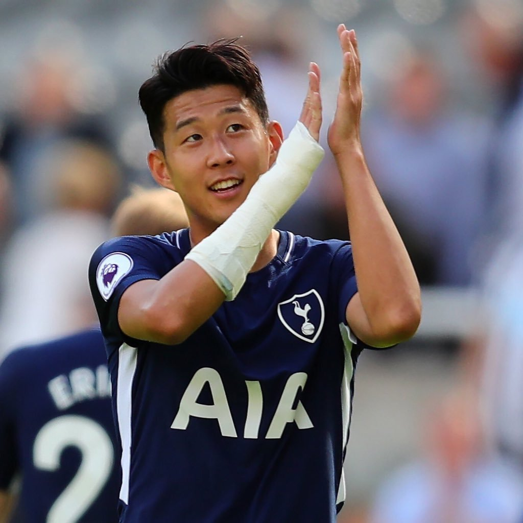Heung min son officiaisonny twitter for Son heung min squadre attuali