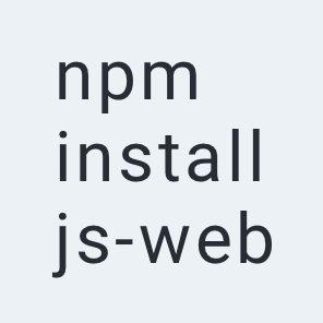 js web framework