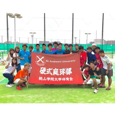 """桃山学院大学 体育会 テニス部 on Twitter: """"部員紹介 1回生 松本光平 ..."""