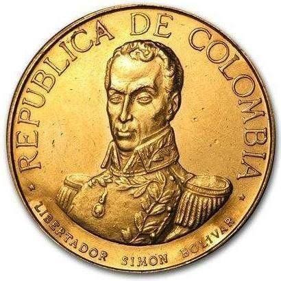 Monedas de Colombia 🇨🇴