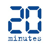 20 Minutes twitter profile