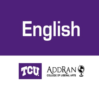 TCU English Dept. (@TCUEnglish) | Twitter