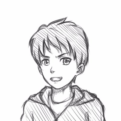 Pndrawing On Twitter How To Draw Anime Boy Face 3 4 View No