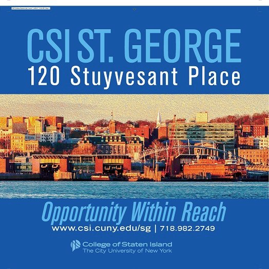 CSI St. George (@CSIStGeorge) | Twitter Csi Campus Map Of Staten Island on staten island college map, staten island new york map, staten island zip code map,