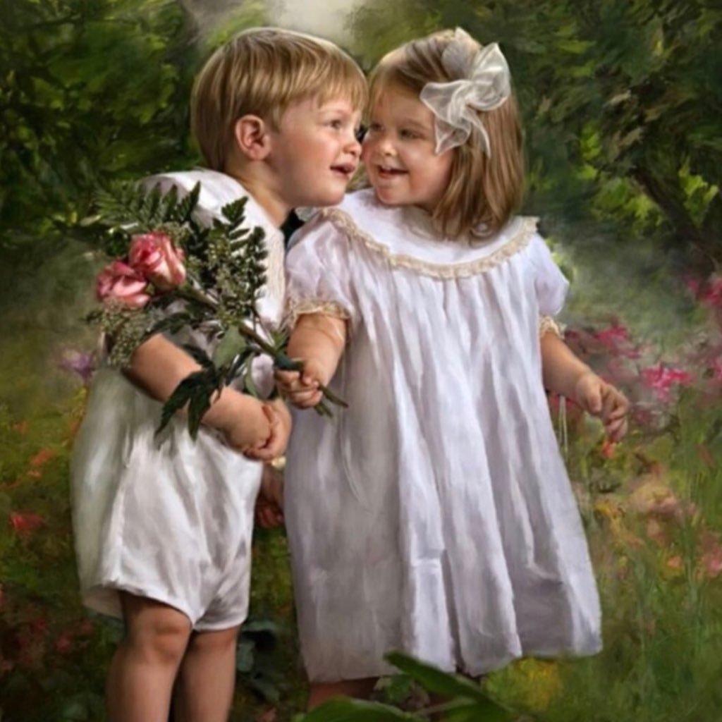 Гифы счастливые дети, днем связиста открытки