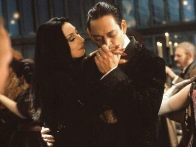 Image result for morticia and gomez addams