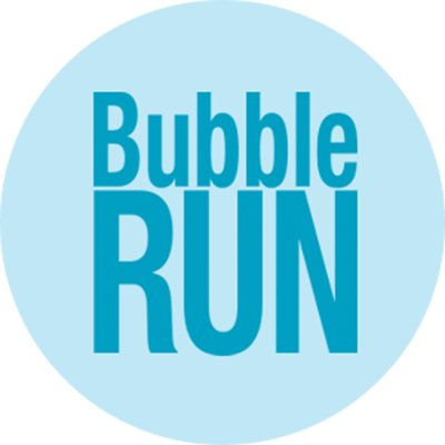 Image result for bubble run text