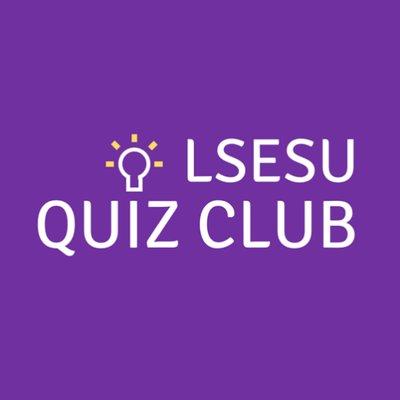 Lsesu Quiz Club At Lsesuquizclub Twitter