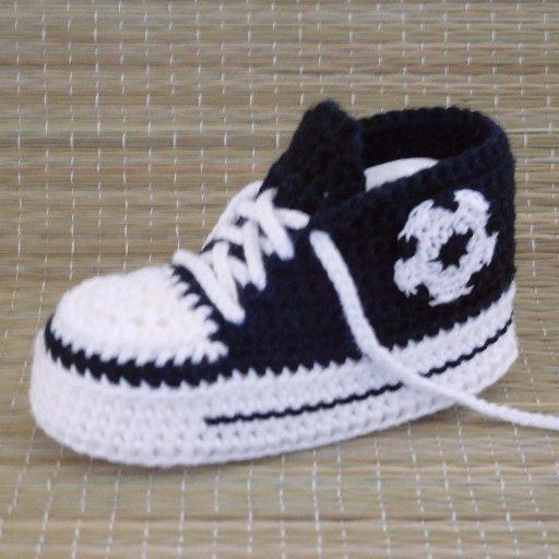 Anke Germerodt On Twitter Ran An Die Nadel Baby Sneaker Häkeln