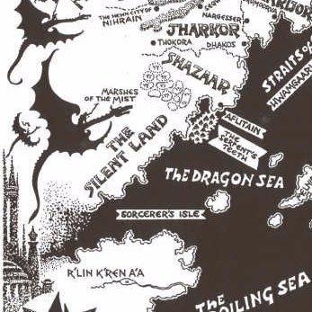 Mythic Maps On Twitter The Eye Of The World Robert Jordan
