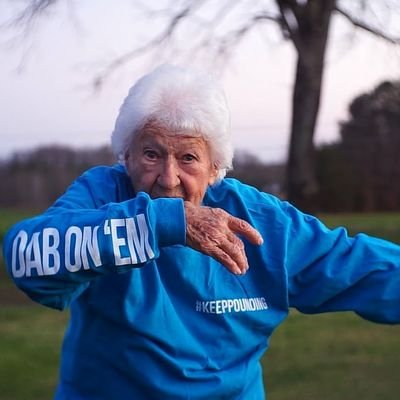 grandma doing a dab (@thuggrandmother)   Twitter