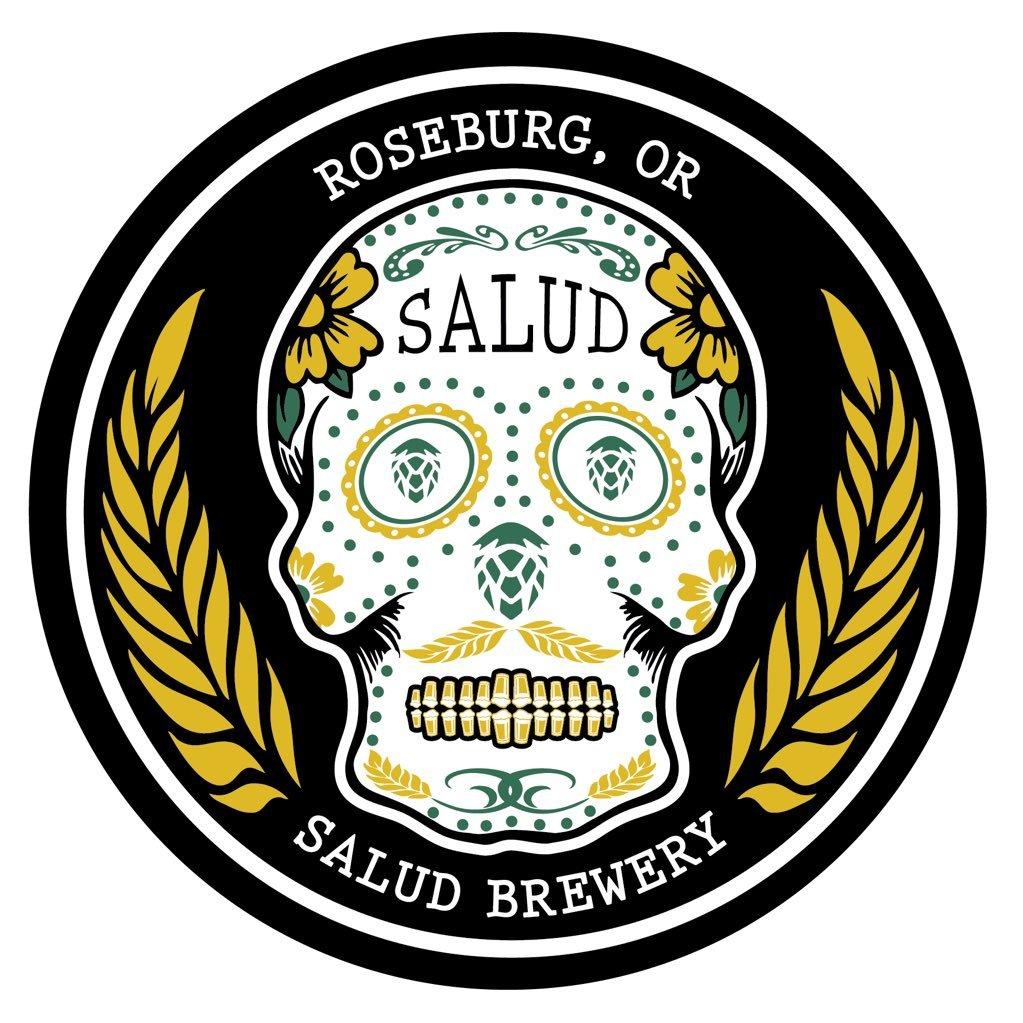 Image result for salud brewery roseburg logo