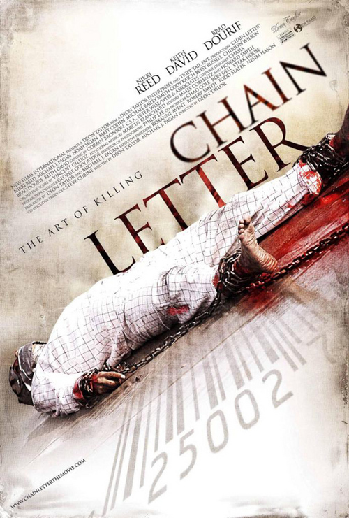 chain letter movie chain letter chainletterfilm 20803 | chainletterposter
