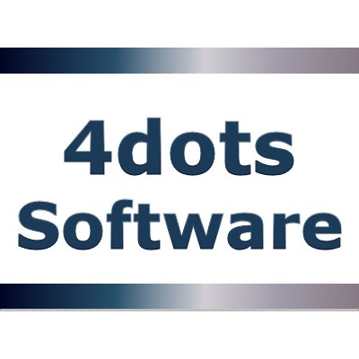 4dots Software (@4dotsSoftware) | Twitter