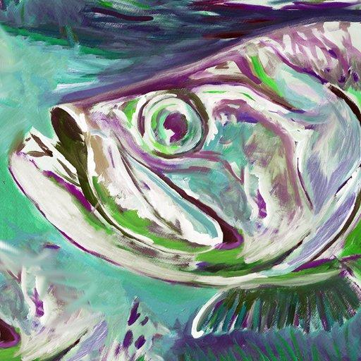 Jack Tarpon Fish Art