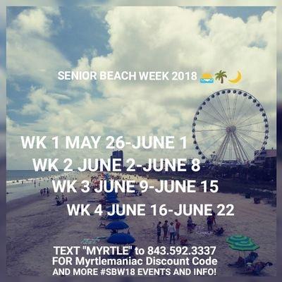 99 Days Left Til Myrtle Beach