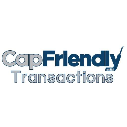 CapFriendly Transactions on Twitter