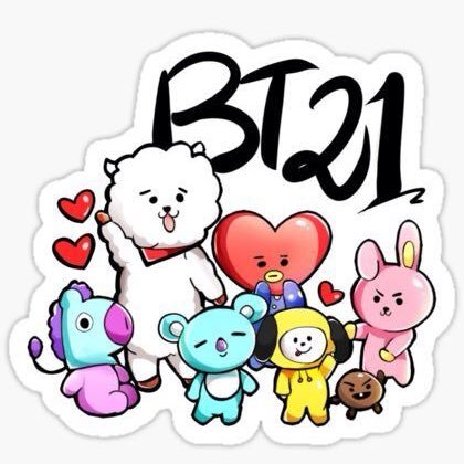 bt21 wallpaper hd