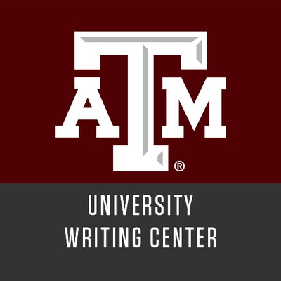 university writing center tamu Writing center the writing center, part of jaguar tutoring, provides one-on-one tutoring for students at texas a&m university-san antonio writing tutors will work with you at any stage of the writing process, from brainstorming to revising.