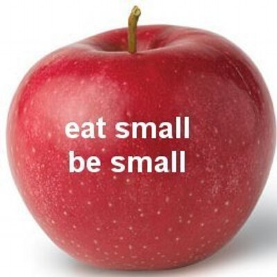 Image result for eat small be small
