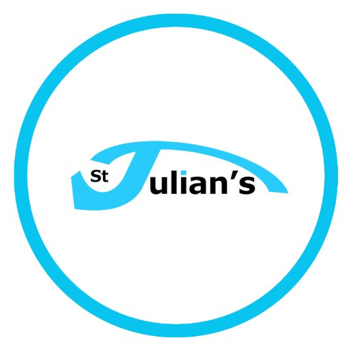 Image result for st julians logo