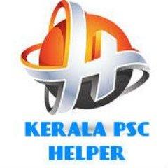 Kerala PSC Helper on Twitter: