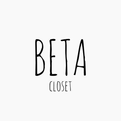 Beta Closet (@betacloset )