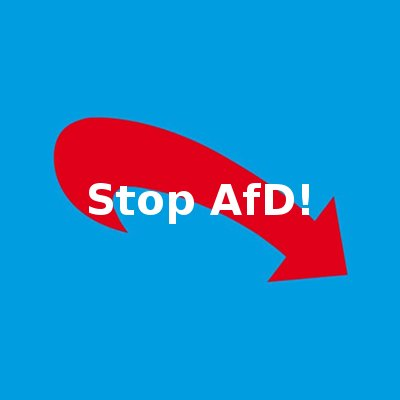 Stop AfD! on Twitter