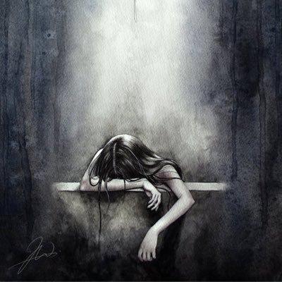 Girl With Depression Depressioncope1 Twitter