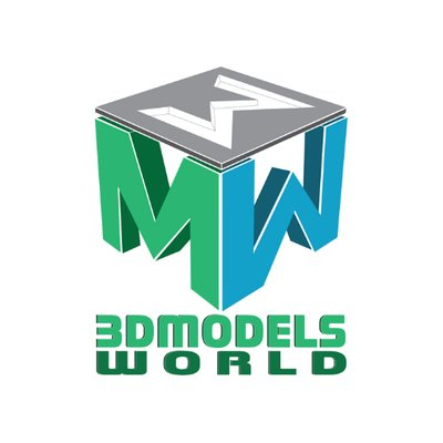 3D Models World on Twitter: