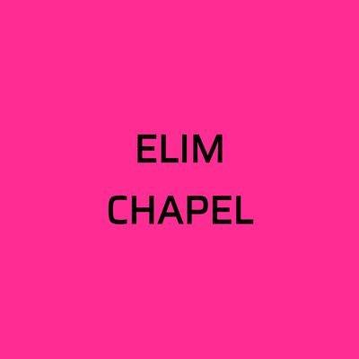 Elim Chapel Glorious Vessels on Twitter: