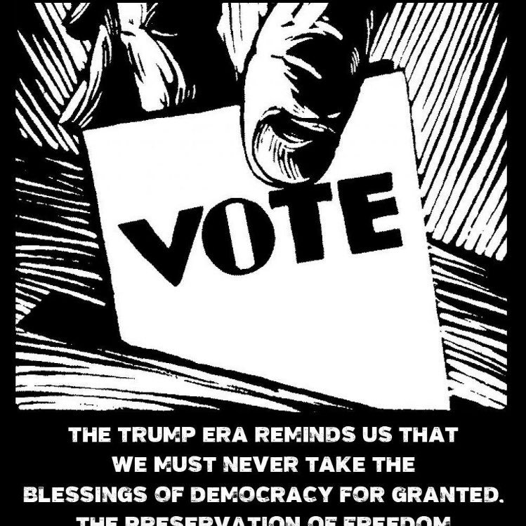 Eugene V. Debs #IVOTED