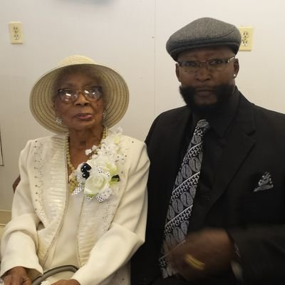 Farrell FLOURNOY my 102 year young AUNT