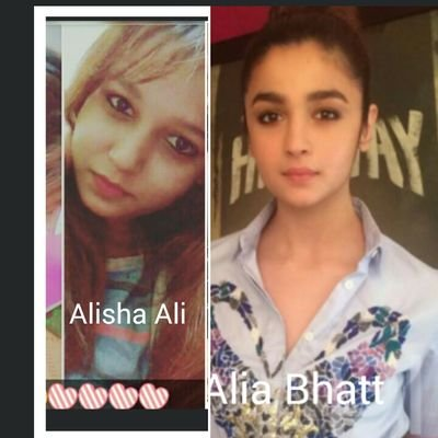 Alia Bhatt Look Alike Shruitica Twitter The two have already made separate appearances this season, but they returned to promote their upcoming movie badrinath ki dulhania. alia bhatt look alike shruitica