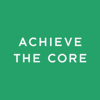 achievethecore.org (@achievethecore) Twitter profile photo