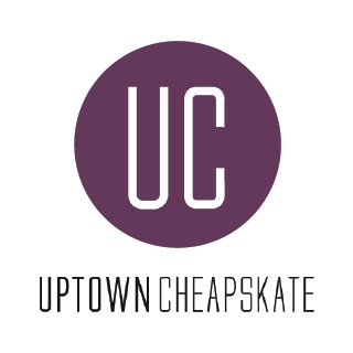 Image result for uptown cheapskate logo