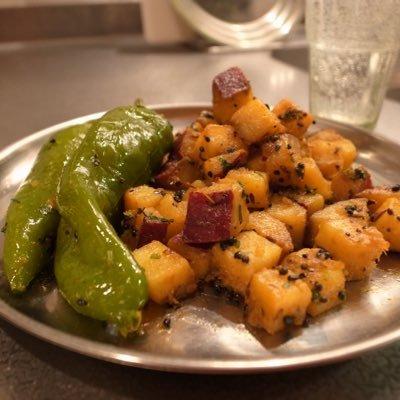 今日のインド料理