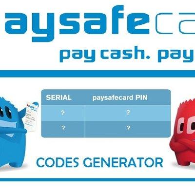 Paysafecard hack code generator
