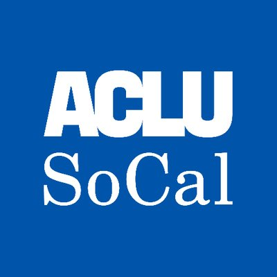 ACLU SoCal (@ACLU_SoCal) Twitter profile photo